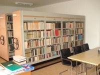 Izgled knjižnice iznutra